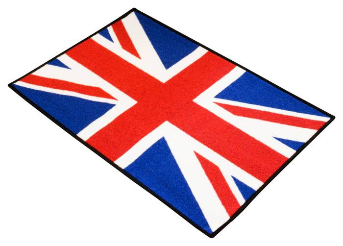 Union Jack Door Mat 90x60x3 cms