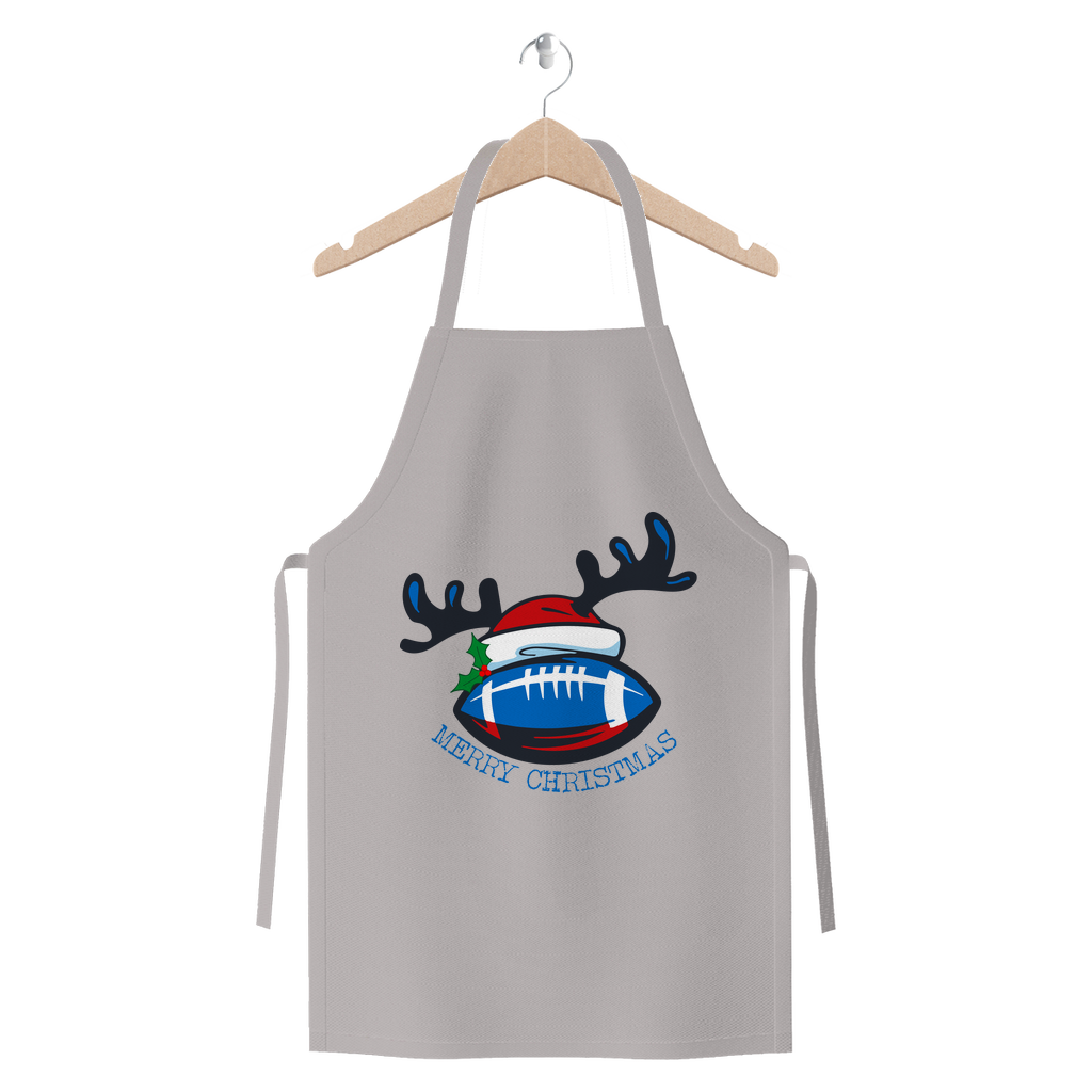 Scottish Merry Christmas Premium Jersey Apron