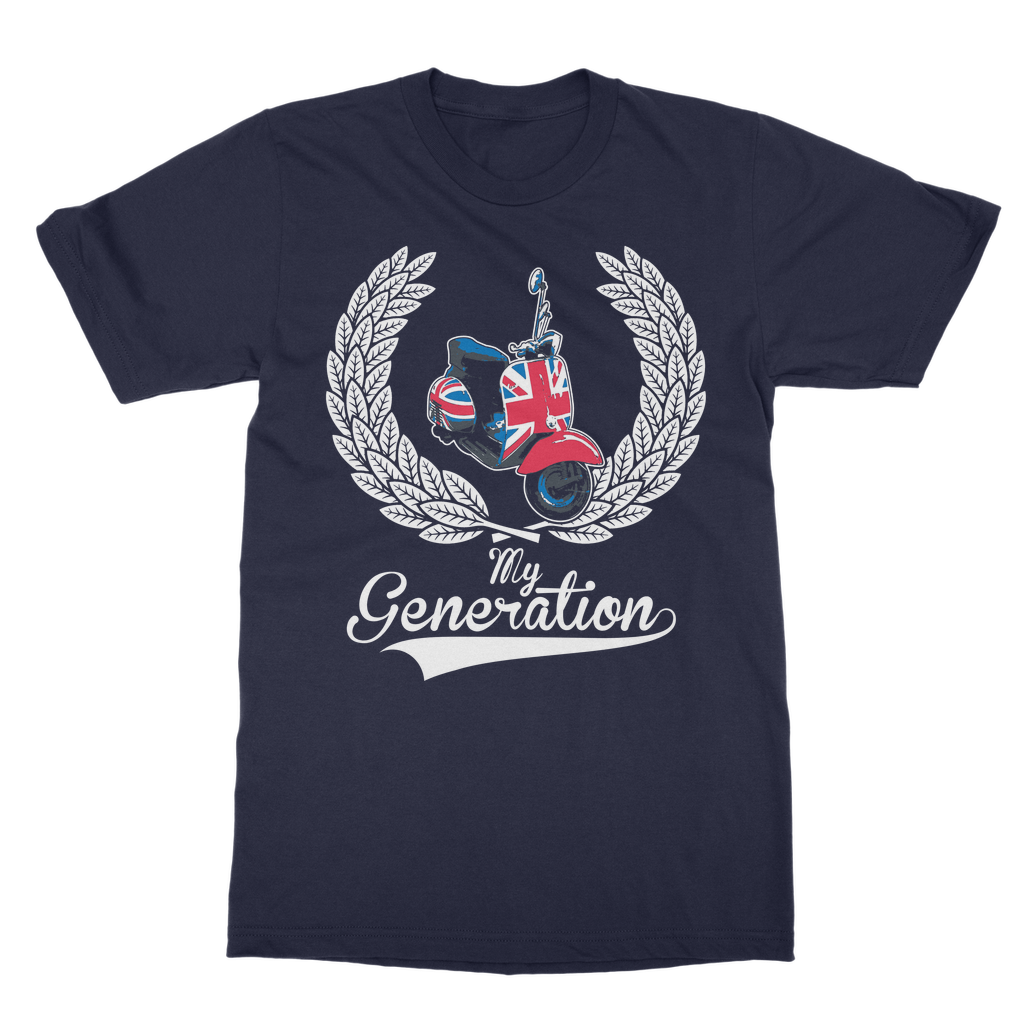 My Generation Mod Scooter T-Shirt