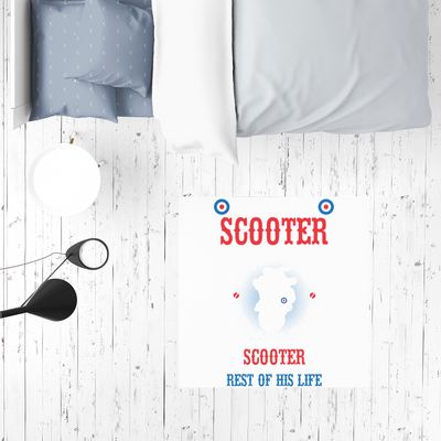 Give a Man a Scooter Sublimation Mat