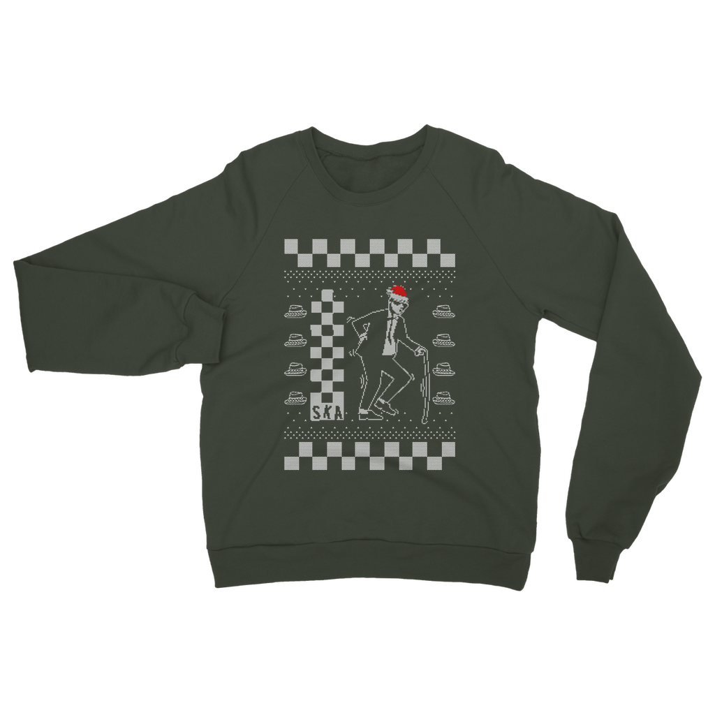 Old Ska Man Christmas Clothing Classic Adult Sweatshirt