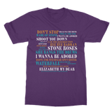 Limited Edition Lyrics T-Shirt
