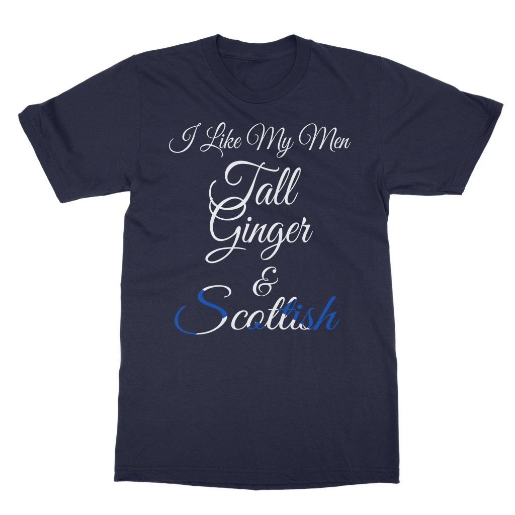 Tall, Ginger and Scottish T-Shirt