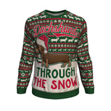 Dchsund through the Snow Christmas Sweater