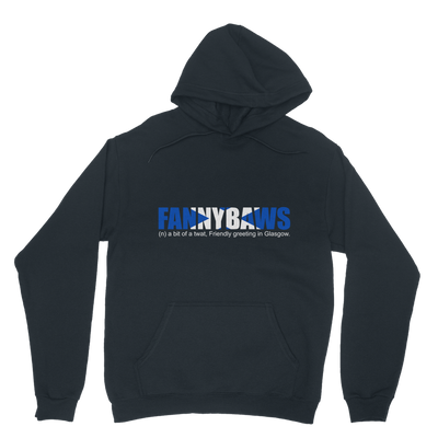 Scottish Slang Fannybaws Hoodie