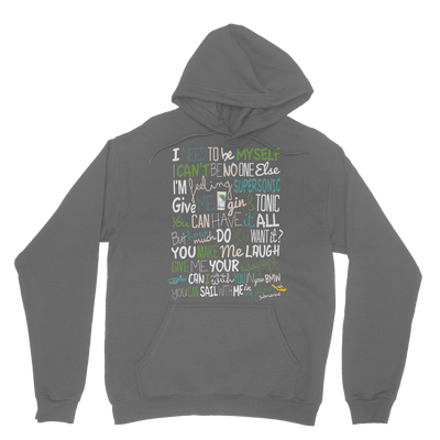 Oasis inspired lyrics t-shirt Hoodie