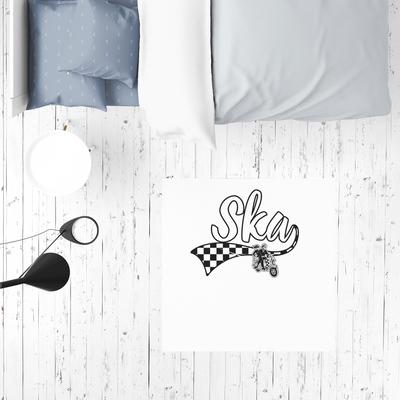 Limited Edition Ska Scooter Sublimation Mat