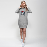 England Football Christmas Premium Adult Hoodie Dress