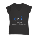 Scottish Slang Eejit T-Shirt