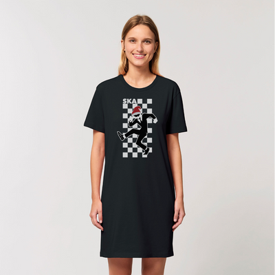 SKA Christmas Organic T-Shirt Dress
