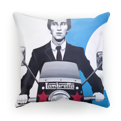 Limited Edition Jimmy lambretta scooter cushion cover