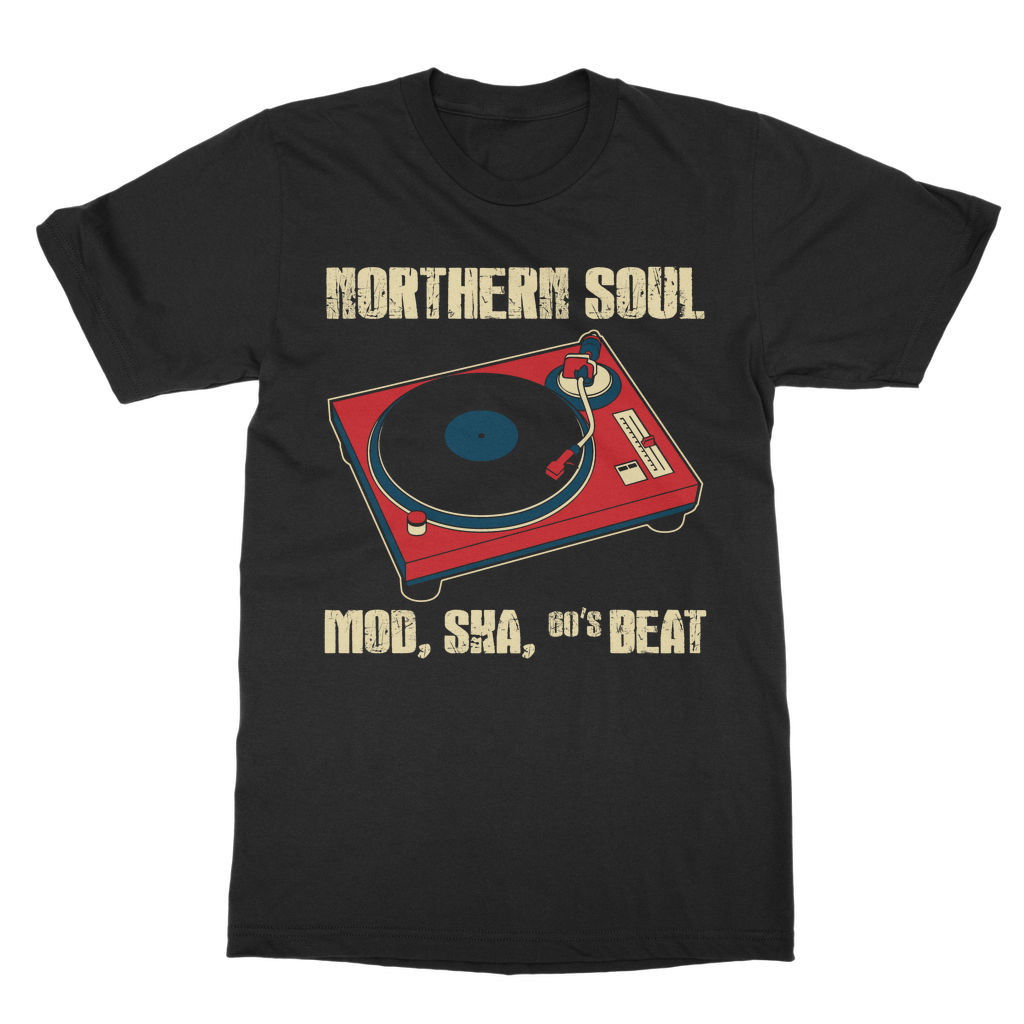 Northern Soul Turntable T-Shirt