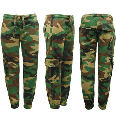 Children\'s Game Woodland Camouflage Tracksuit