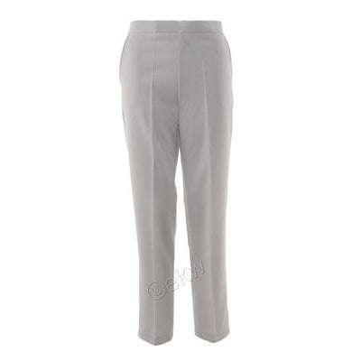 Bowls White Straight Leg Trousers