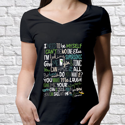 Oasis inspired lyrics t-shirt T-Shirt