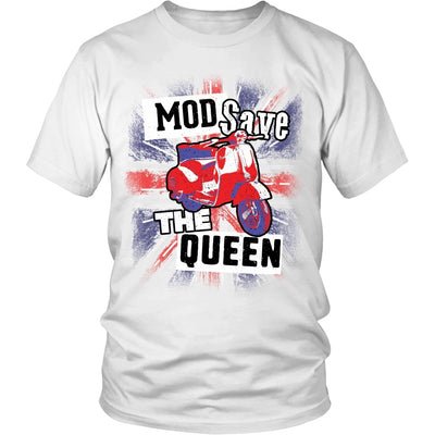 T-shirt - Limited Edition Mod Save The Queen