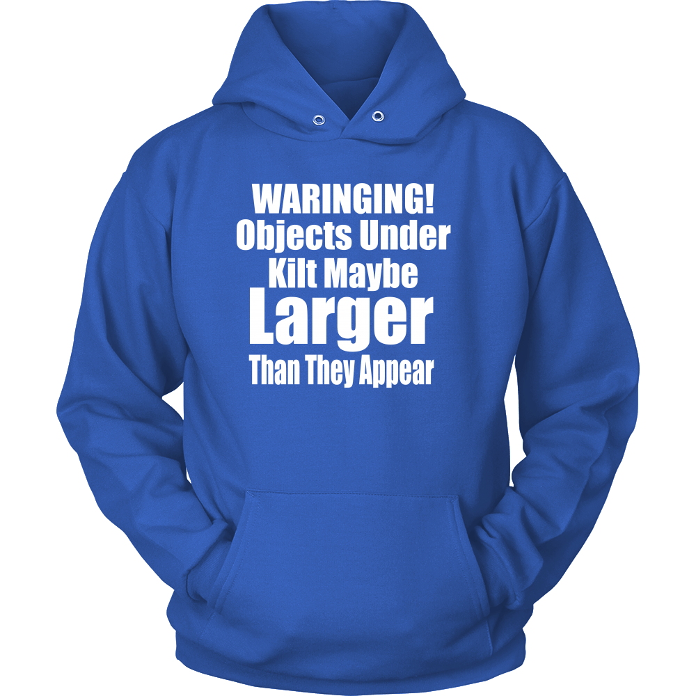 T-shirt - Objects Under Kilt May Be Larger Than They Appear