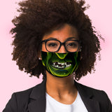 Witch face mask Sublimation Face Mask