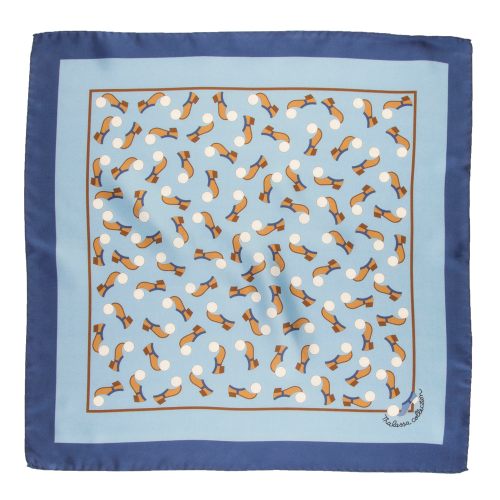 TSAROUHI BANDANA/POCKET SQUARE - Thalassa Collection