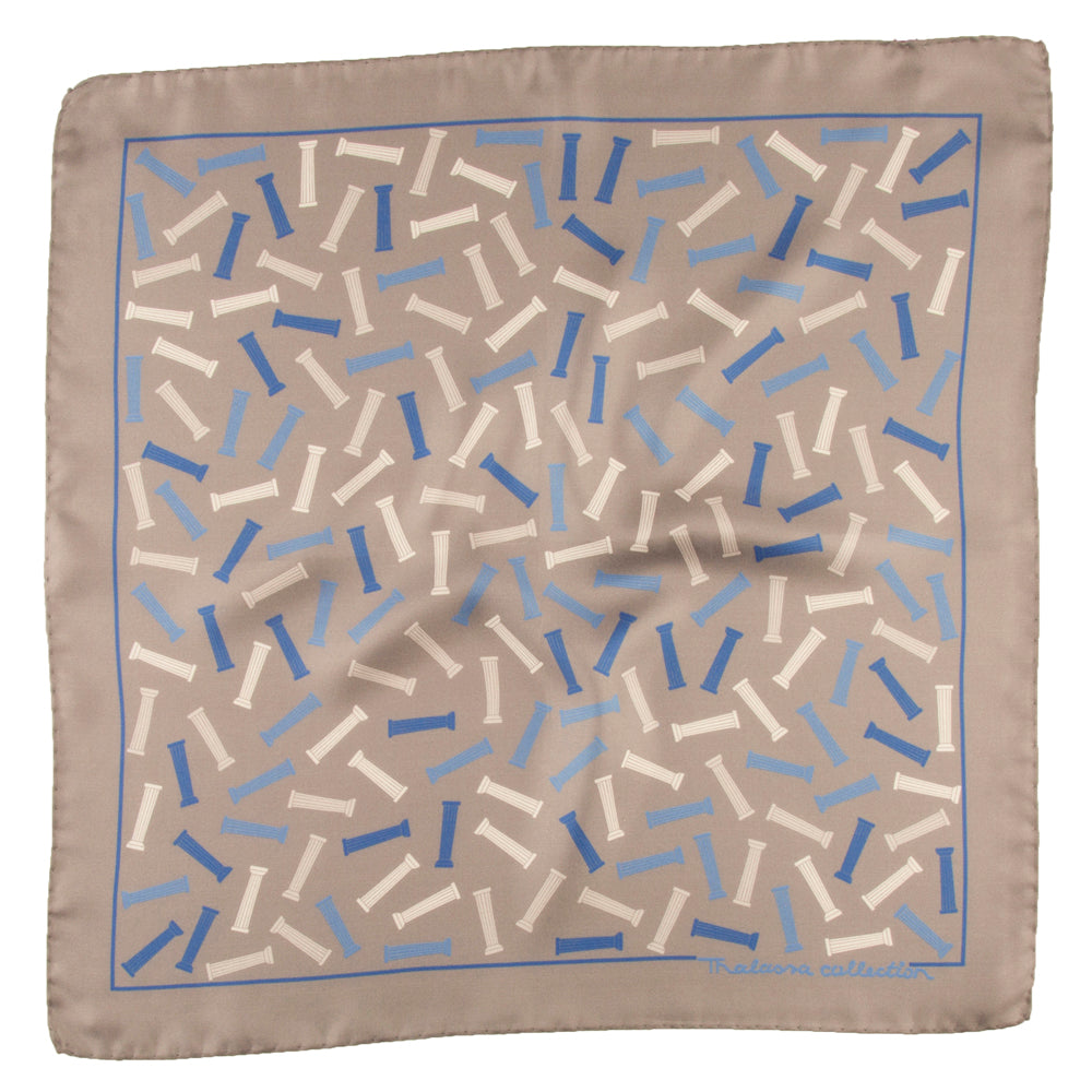 COLUMNS BANDANA/POCKET SQUARE - Thalassa Collection