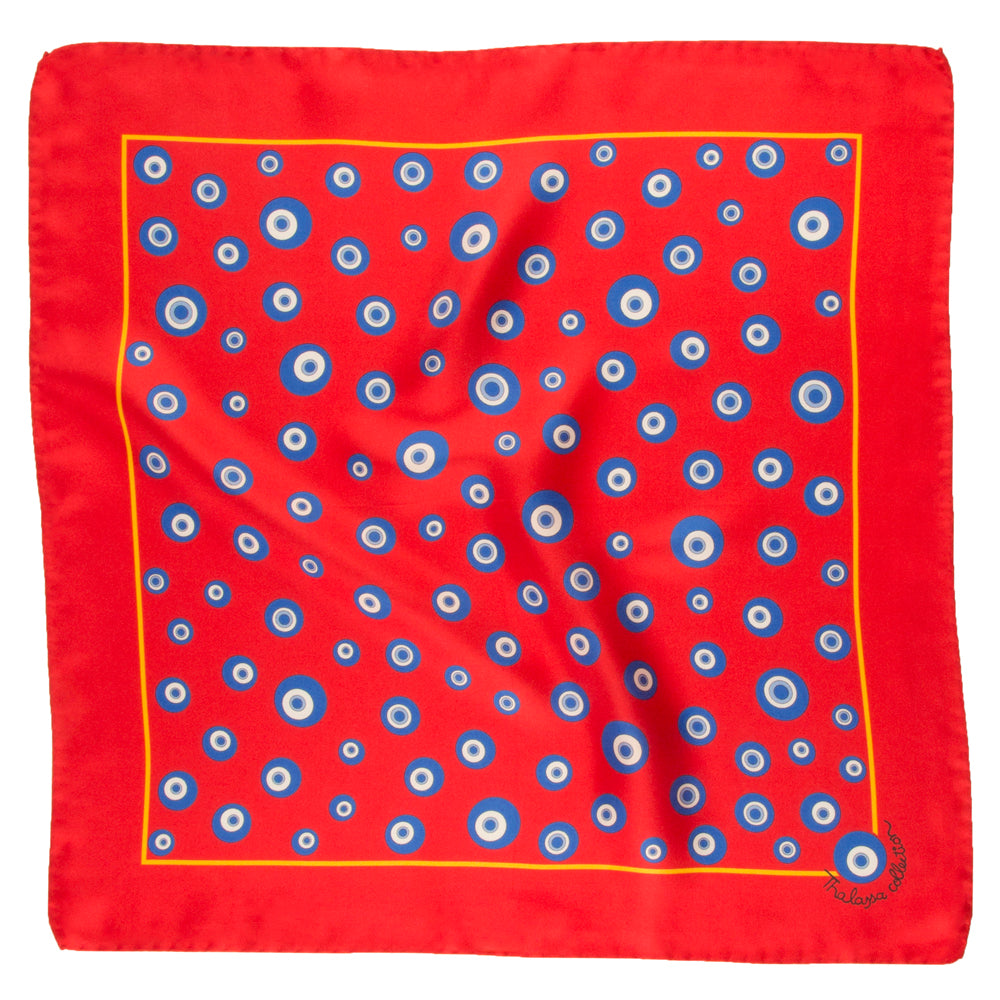 EVIL EYE I BANDANA/POCKET SQUARE - Thalassa Collection
