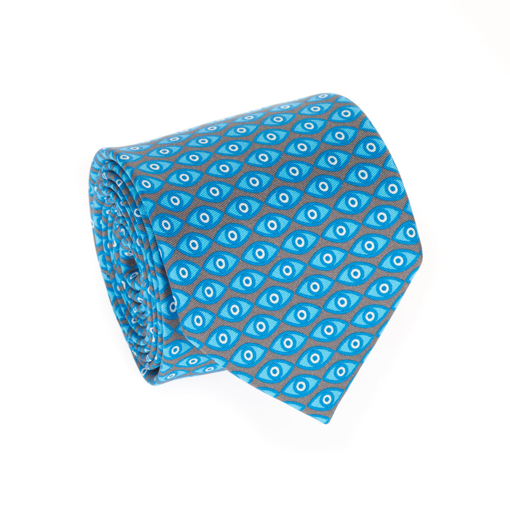 EVIL EYE III TIE - Thalassa Collection