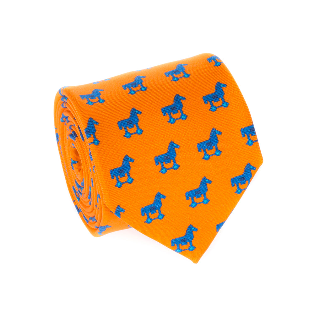 TROJAN HORSE TIE - Thalassa Collection