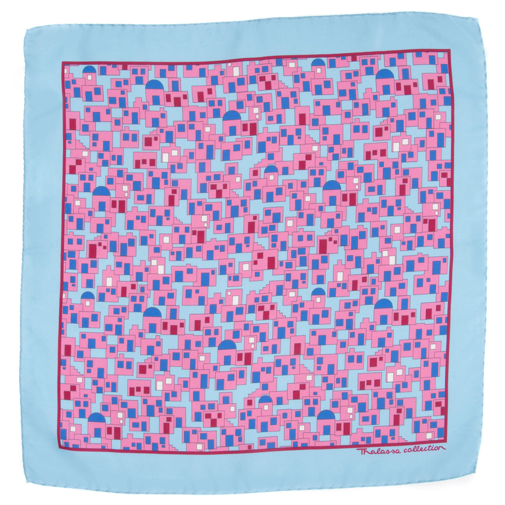 CYCLADES BANDANA/POCKET SQUARE - Thalassa Collection