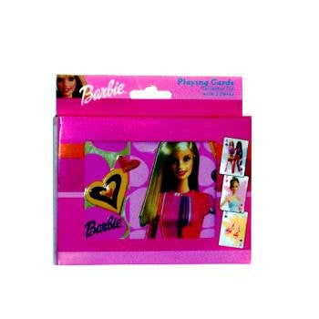 Bicycle Barbie Playing Cards 2 New Decks in Collectable Tin