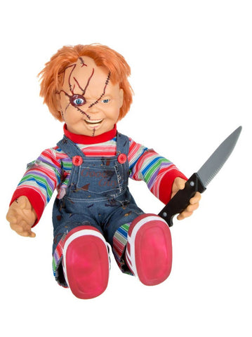"Bride of Chucky 24"" Talking Animated Chucky Doll"