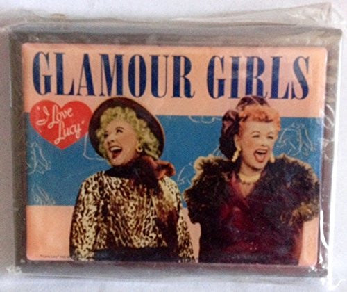 I Love Lucy The Glamour Girls Medium Metal Trinket Box