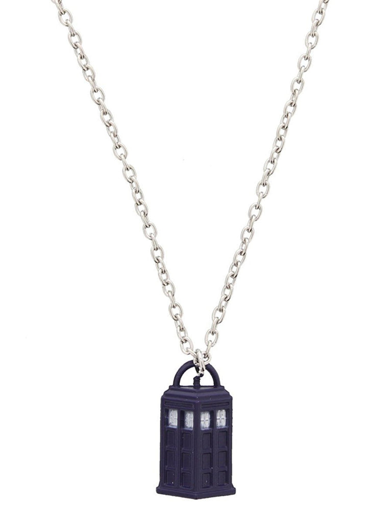 Doctor Who 3D Tardis Necklace