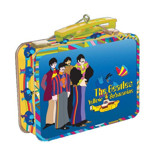 The Beatles Ornament Yellow Submarine Mini Lunch Box