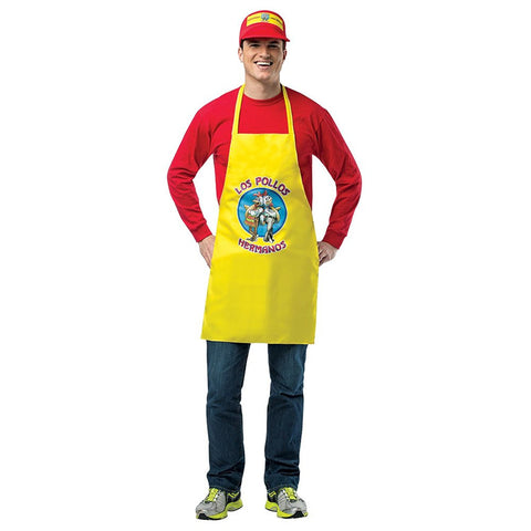 Breaking Bad Los Pollos Hermanos Apron and Visor