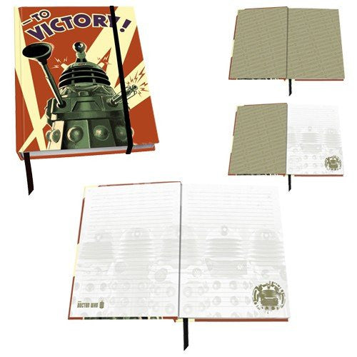 Doctor Who Dalek to Victory Journal