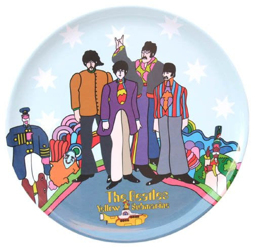 The Beatles Yellow Submarine Round Tray