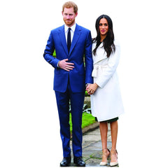 Prince Harry and Meghan Markle Life Size Cardboard Cutout Standup