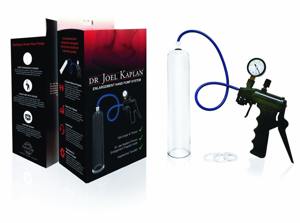 Dr. Joel Kaplan's Hand Pump System for E.D.