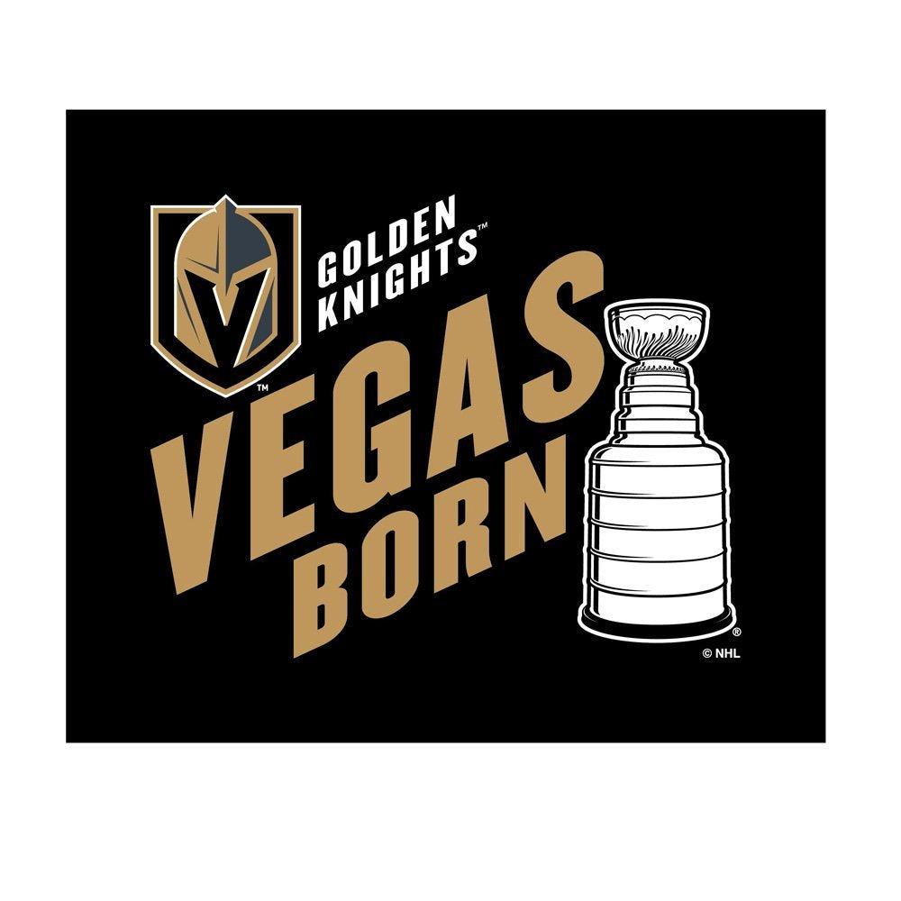 Vegas Golden Knights Vegas Born Cotton Rally Towel