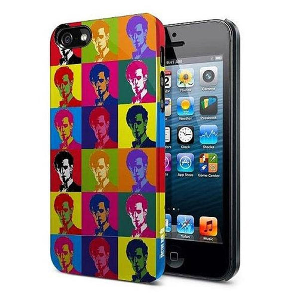 Doctor Who 11th Doctor Warhol Treatment iPhone 5 Hard Cover
