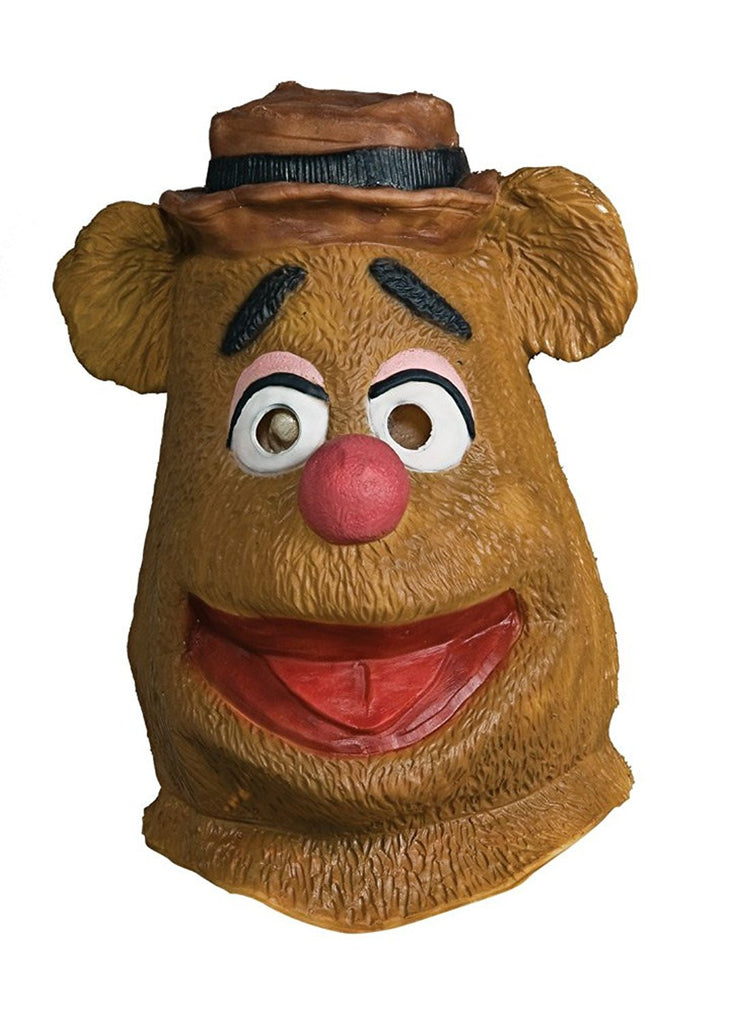 The Muppets Deluxe Adult Fozzie Overhead Latex Mask
