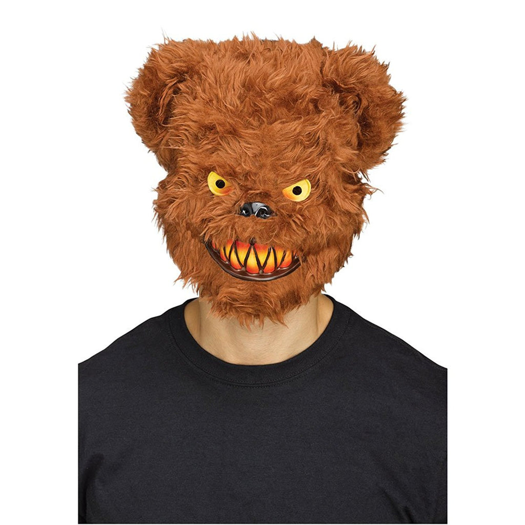 Killer Brown Bear Adult Mask