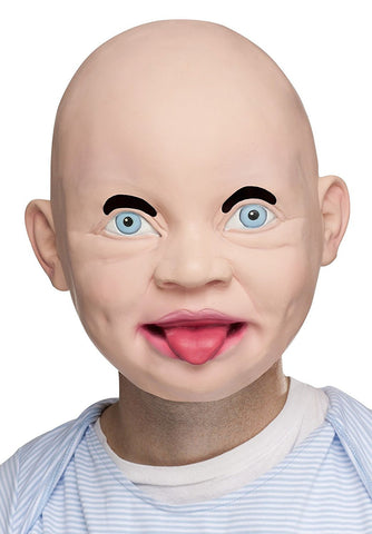 Fun World Happy Baby Latex Overhead Mask