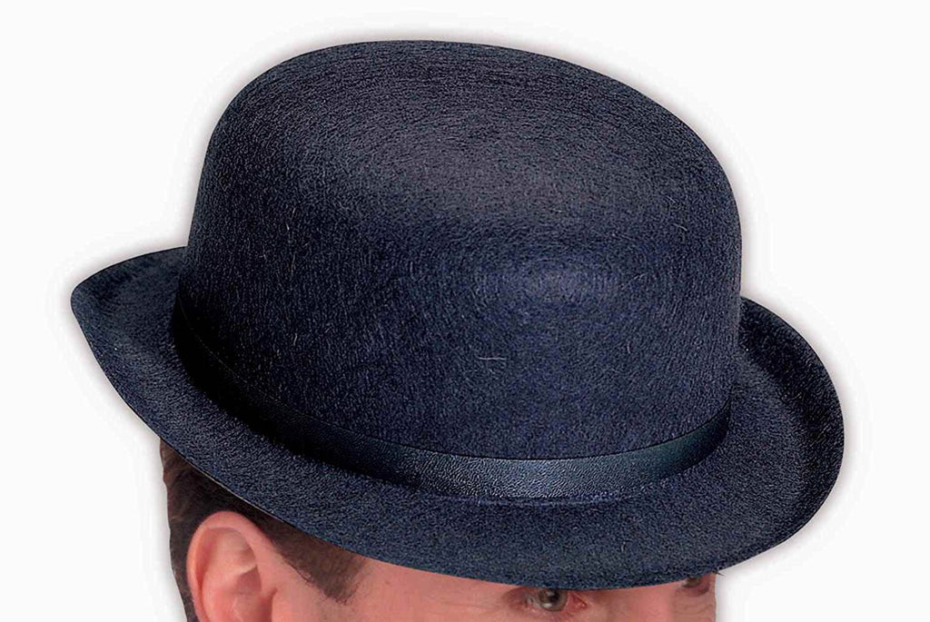 Black Felt Derby Adult Hat