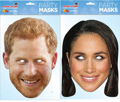 Prince Harry and Meghan Markle Face Mask Royal Wedding Pack