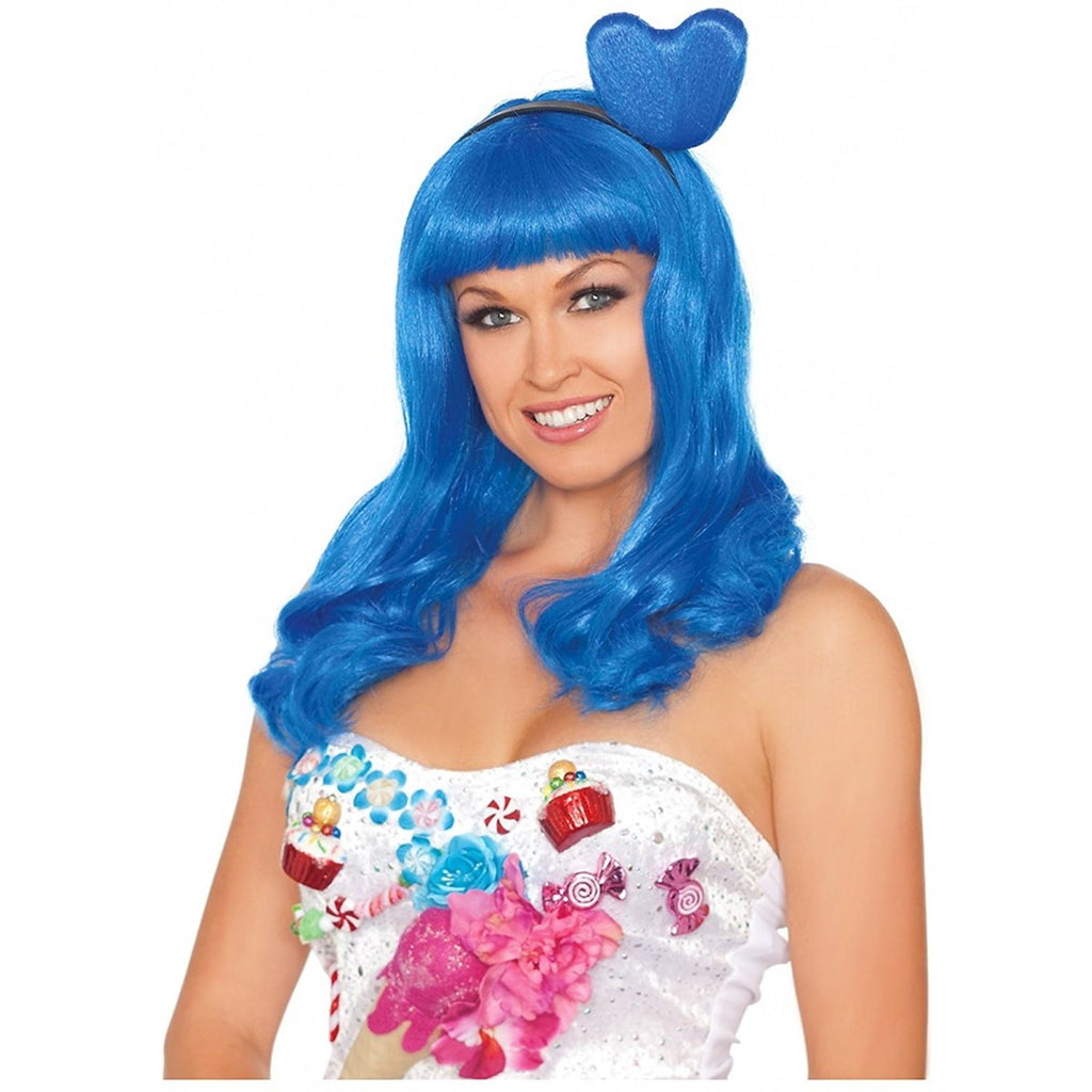 Party King Katy Perry Candy Girl Blue Wig