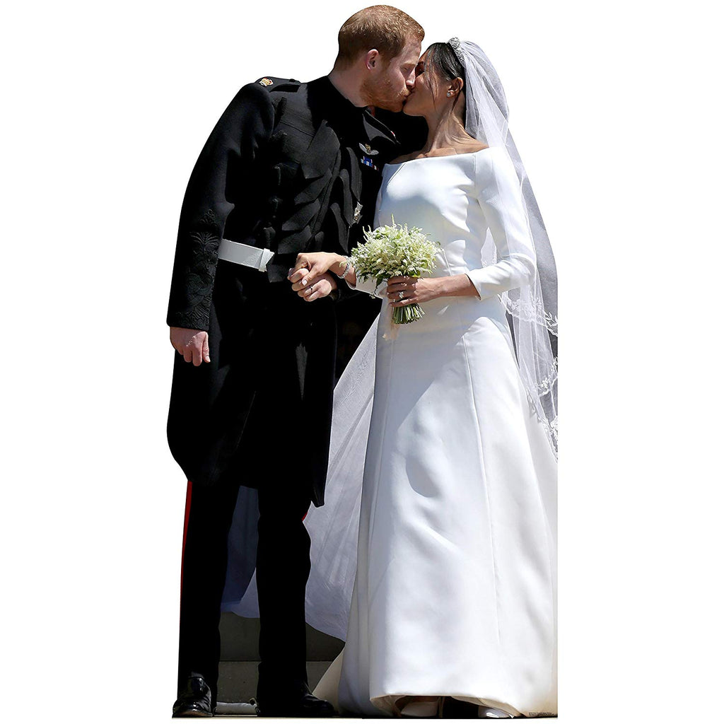 Prince Harry and Meghan Markle Wedding Life Size Cardboard Cutout Standup