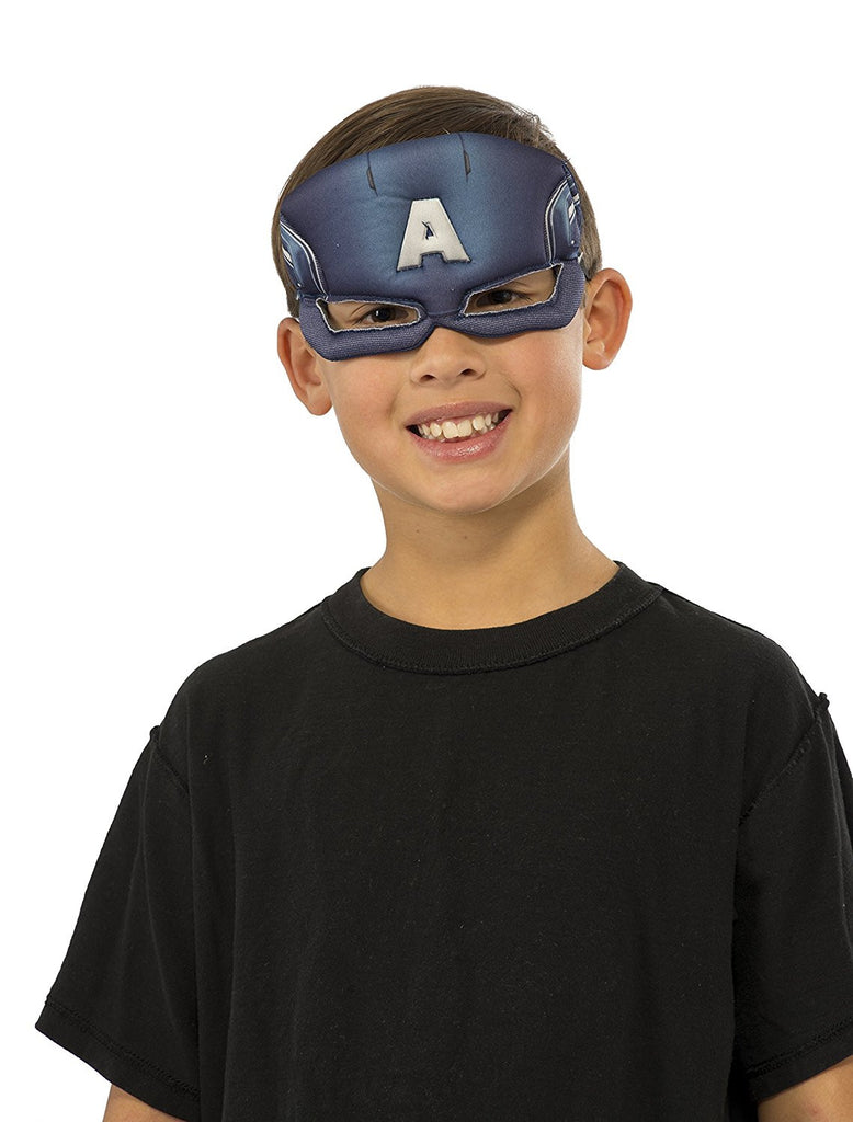 Marvel Universe Captain America Child Plush Eye Mask