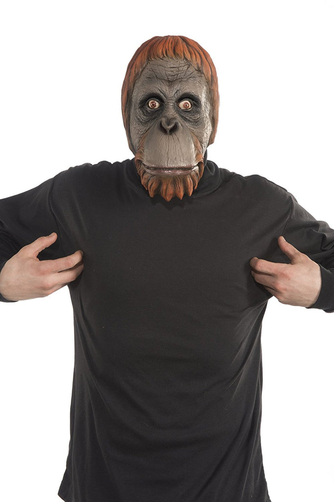 Orangutan Latex 1/2 Mask