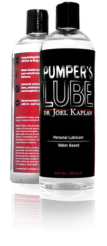 Dr. Joel Kaplan's Pumper's Lube 16oz Bottle